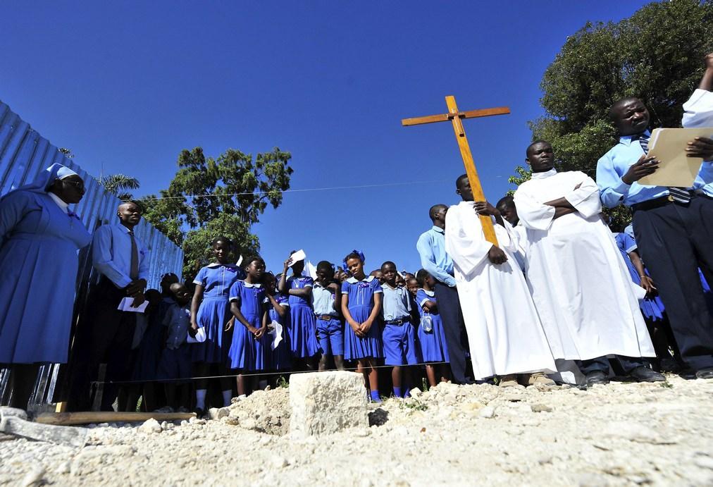 BILD zurück in HAITI - ein Jahr nach dem Erdbeben